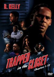the cover of the trapped in the closet dvd